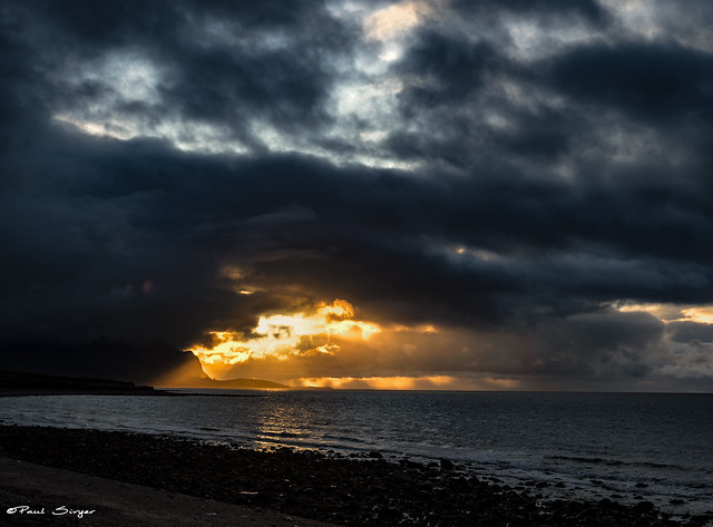 The Eifl from Aberdesach last Sunday evening :)