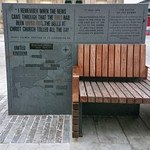 Accrington benches - The Battle of the Somme