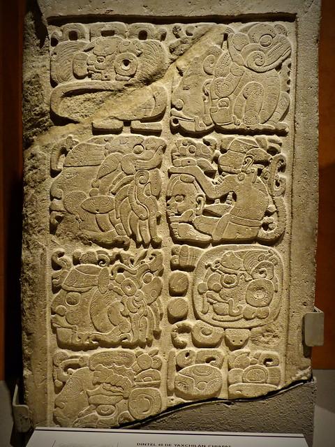 Dintel 48. Yaxchilán, Chiapas 🇲🇽 Museo Nacional de Antropología