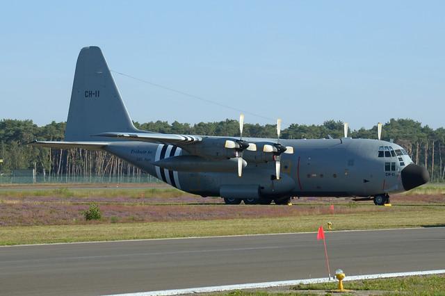 Belgium-Air Force Lockheed C-130H Hercules CH-11