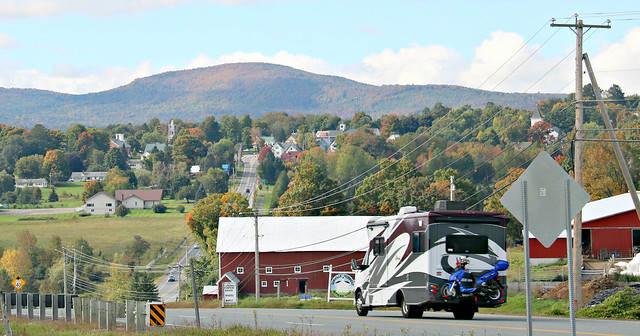 on the road  - danville, vermont