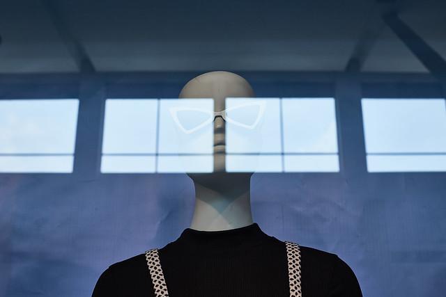 Prototipo femenino para vitrina
