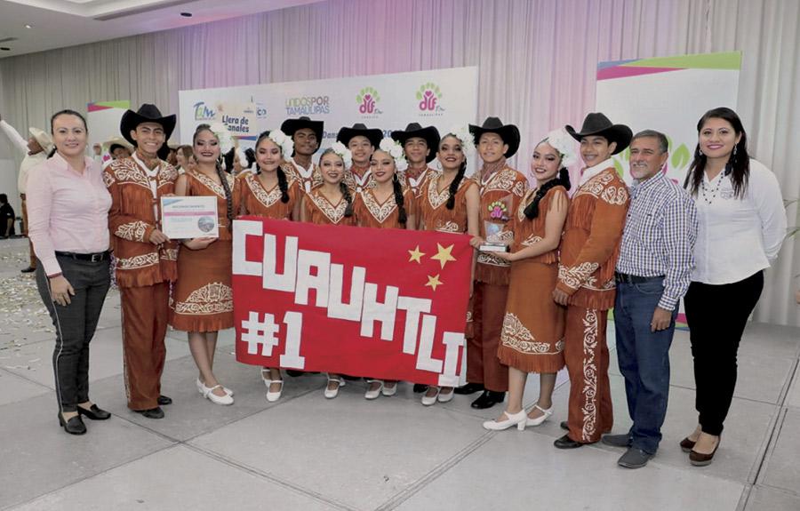 'Cuauhtli', primer lugar en danza folklórica