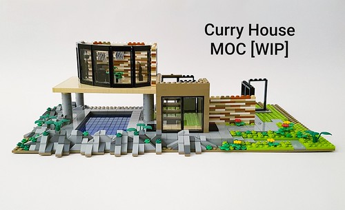 Curry House MOC work in progress. Follow the building process here and on Instagram!