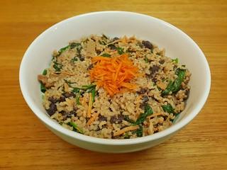 Tahini Lemon Rice and Beans