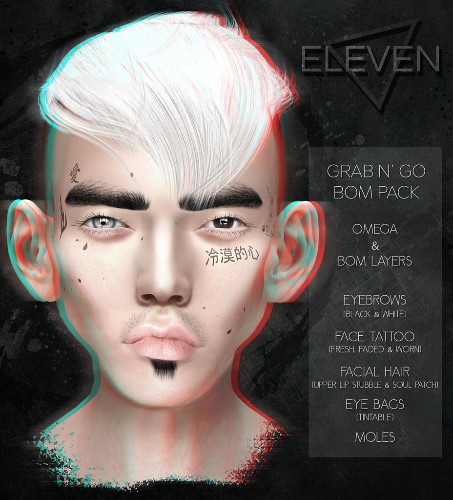 ELEVEN – Grab N Go BOM Pack @ Harajuku Event