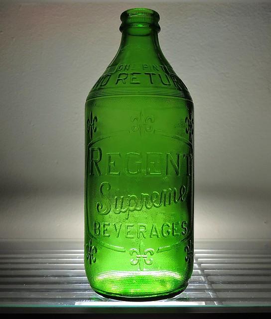 1964 Regent Supreme Beverages Soda Bottle