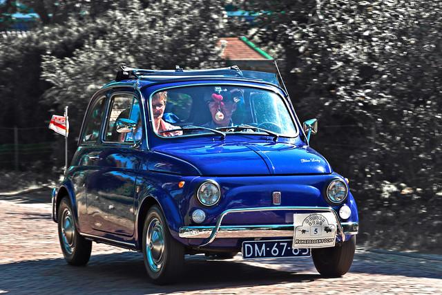 FIAT 500L 'Blue Lady' 1972 (2223)