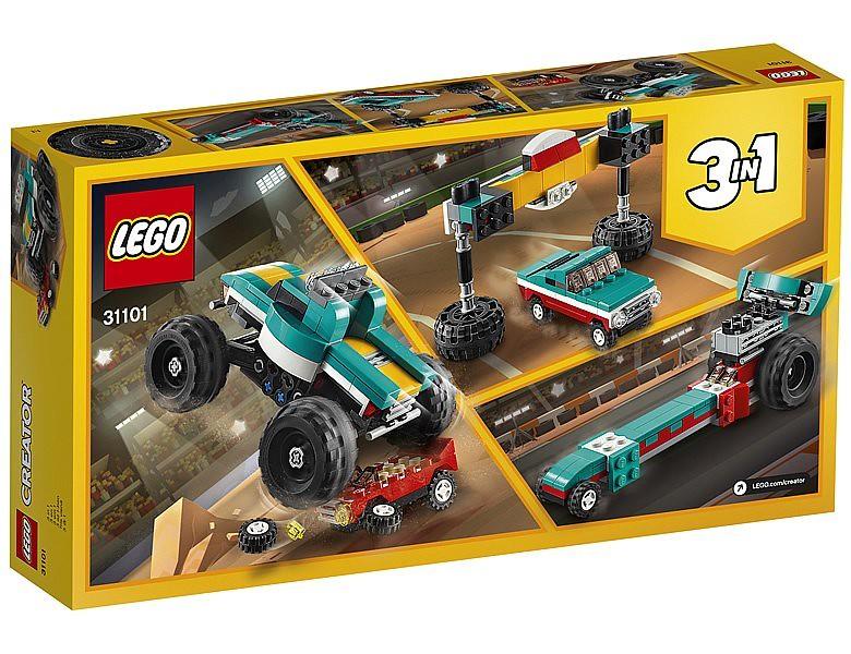 把漢堡店&怪物卡車結合真是個好主意?! LEGO 31099~31105 創意系列 2020 上半年部分盒組公開!