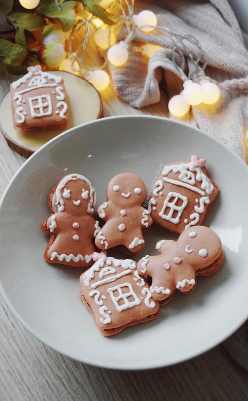 gingerbread macaron recipe