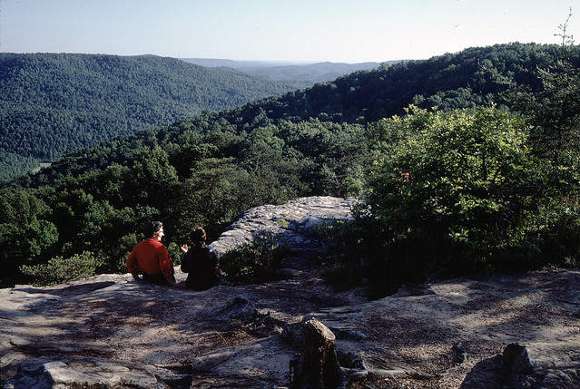 "June 66; Bee Rock--Monterey, TN; ""Bessie and Tanya Prichard""; TN Natural Areas"