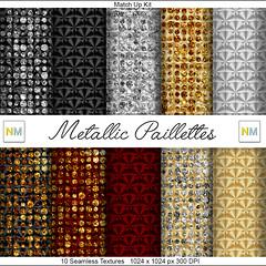 Metallic Paillettes Preview