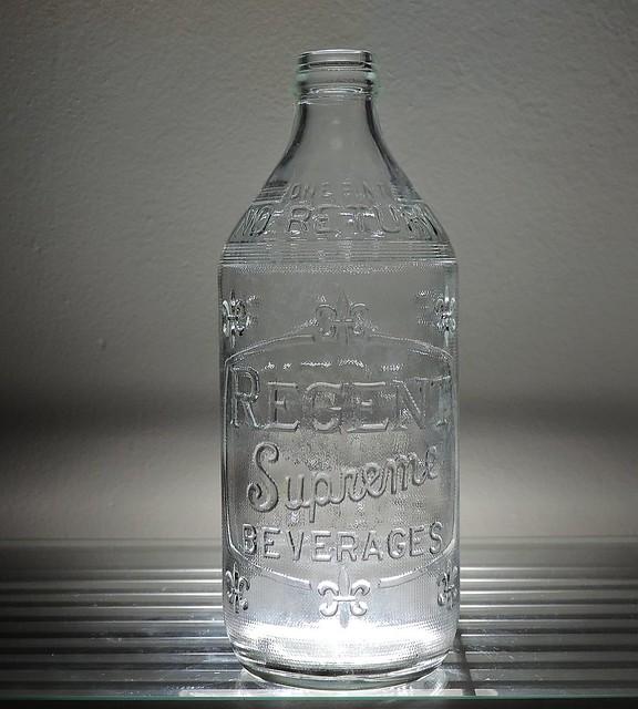 1962 Regent Supreme Beverages Soda Bottle