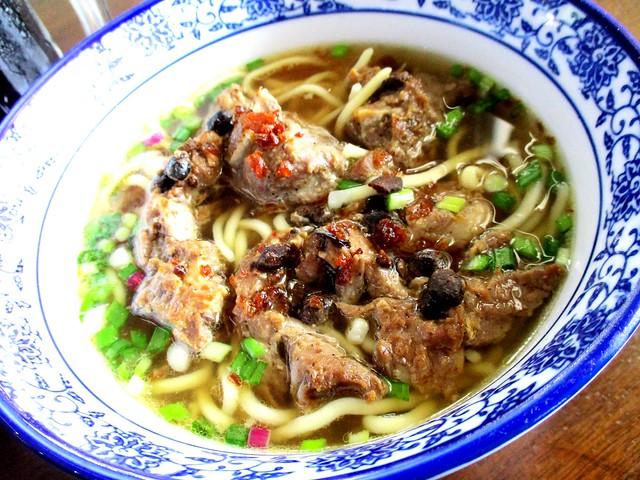 Pork rib noodles