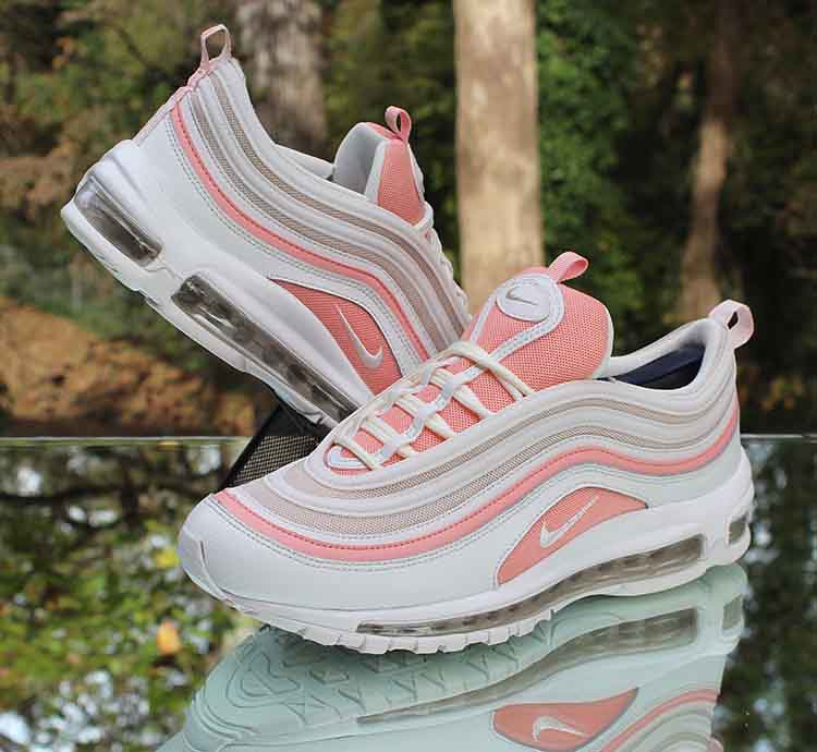 Nike Air Max 97 Bleached Coral Women S Size 10 White Pink Flickr