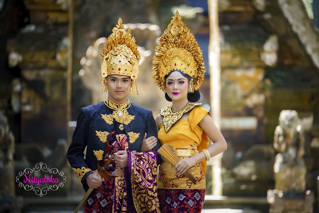 Paket jasa foto video dan makeup prewedding dengan rias bali gaun bridal murah jakarta surabaya