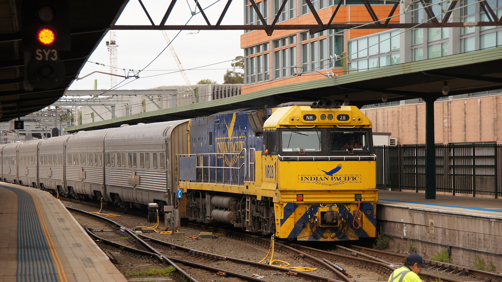 NR28 Indian Pacific Central by class400railcar