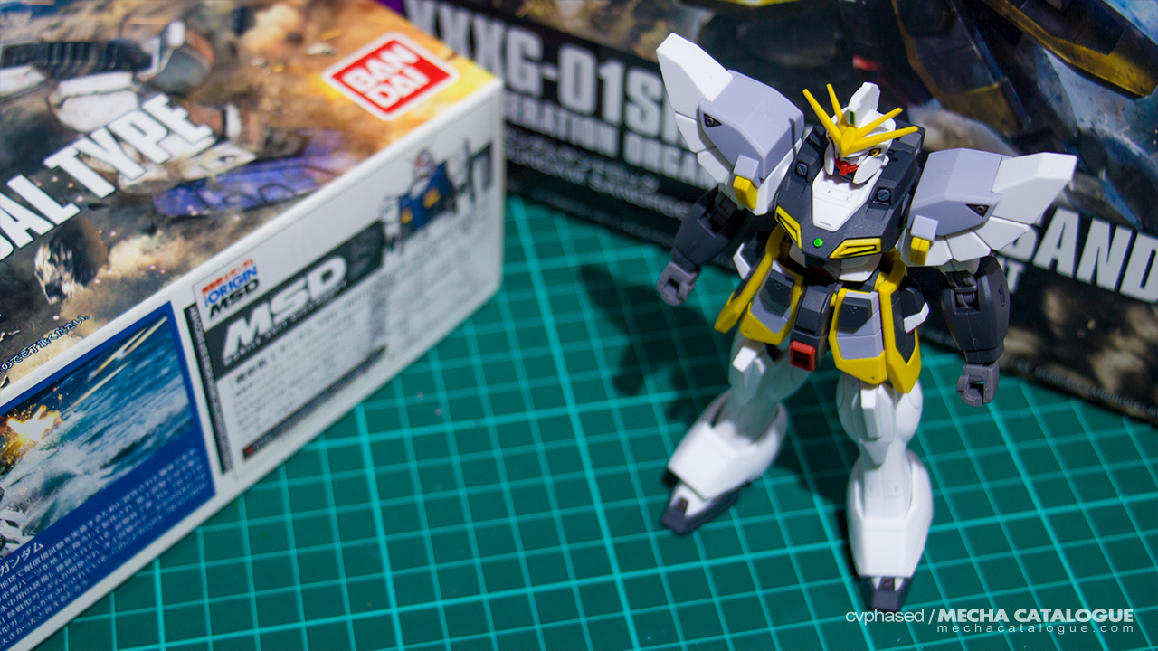 Completed Build: HGAC Gundam Sandrock