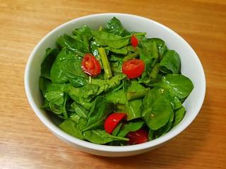 Spring Salad with 'Honey' Mustard Vinaigrette