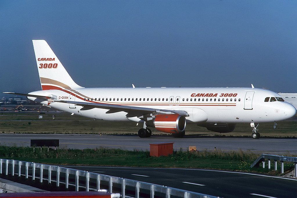 C-GVXH A320 Canada 3000 YYZ 2001_ready