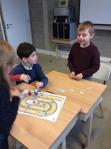 1e Leerjaar: We spelen een spel... over het paard van Sint