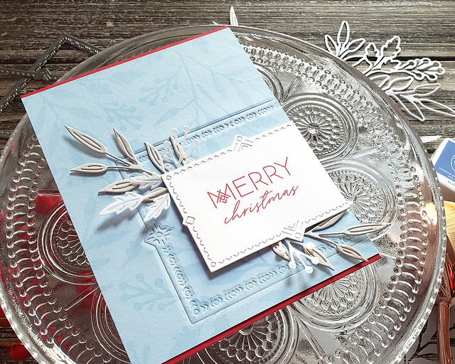 LizzieJones_TheGreetery_November2019_Inside&OutBerryBranch_NordicFrames_ScandinavianChristmasCard2