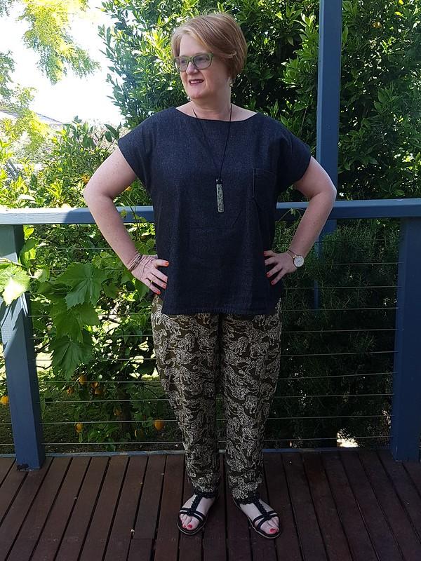 Maya top and Daphne pants