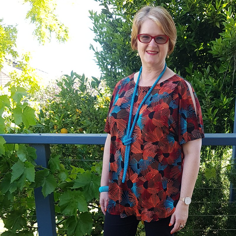 Style Arc Rae tunic in knit from The Cloth Shop Ivanhoe