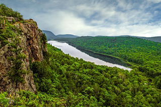 Lake of the Clouds in Michigan's Porcupine Mountains ~ 2012