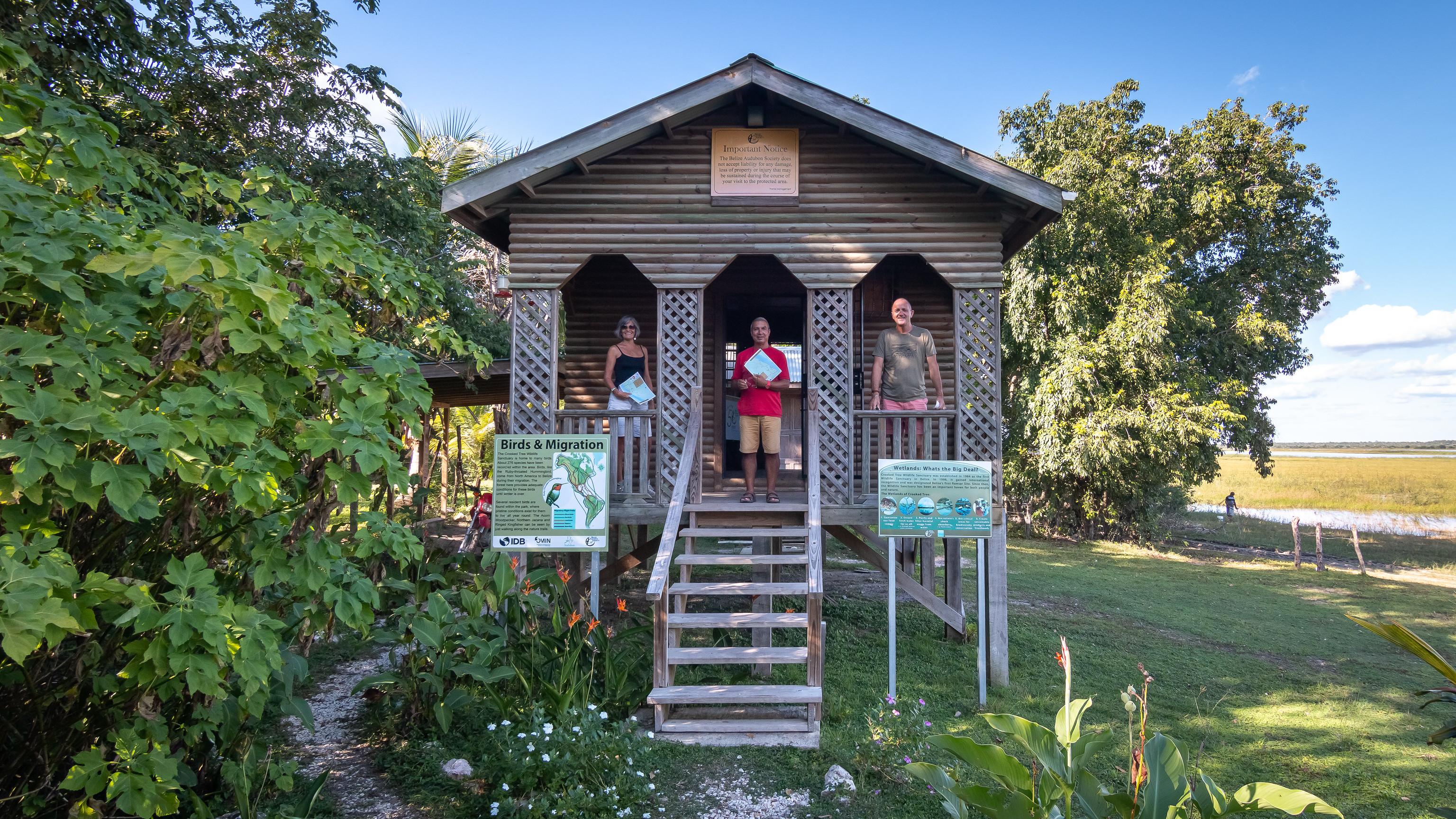 Crooked Tree Wildlife Sanctuary - [Belize]
