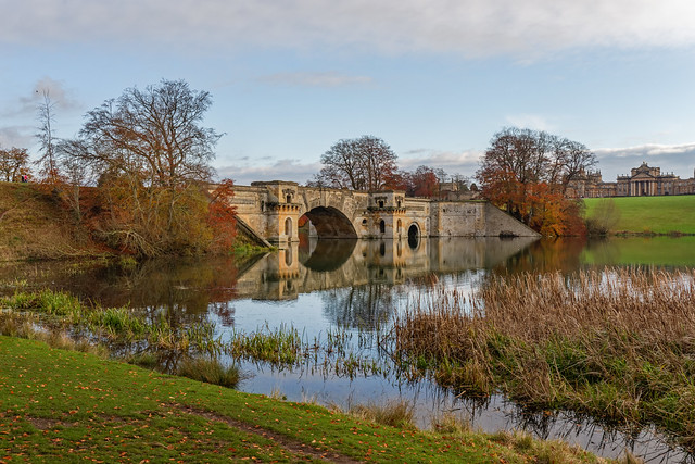 Blenheim Palace Autumn