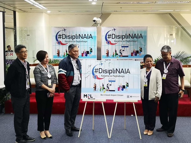 DisipliNAIA Civility Campaign Reminds NAIA Manila Airport Citizens to be Mindful in their actions towards others