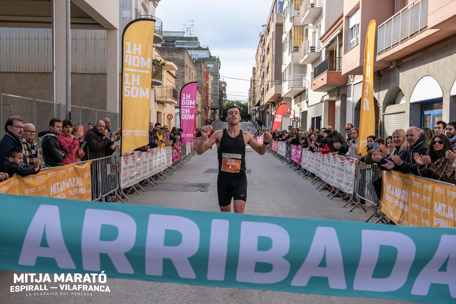 Mitja Marató Espirall - Vilafranca · 2019