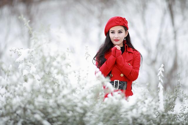 Beauty In Red 1