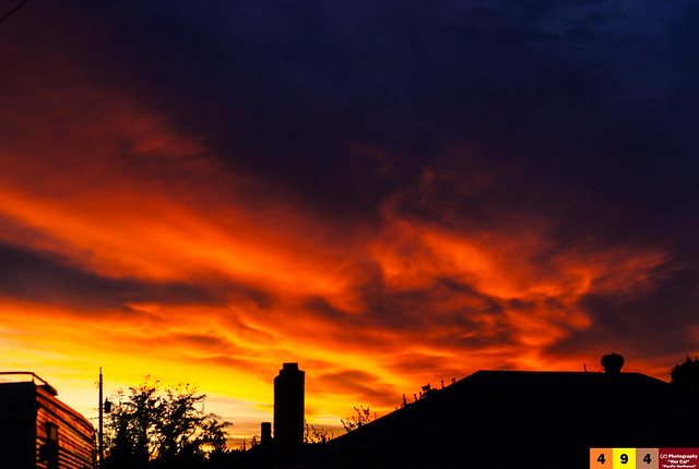 A Pacific Northwest Crush: A Dramatic Sunset (Part 253): As the Phoenix Spares the Crush (In Technicolor)