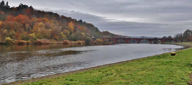 at the Main River
