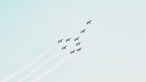 Red Arrows Concorde Dedication Pass
