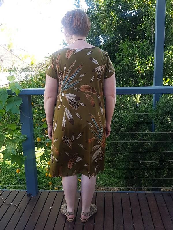 Pattern Emporium Exhale dress