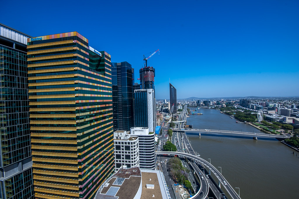 Brisbane from the 36th floor
