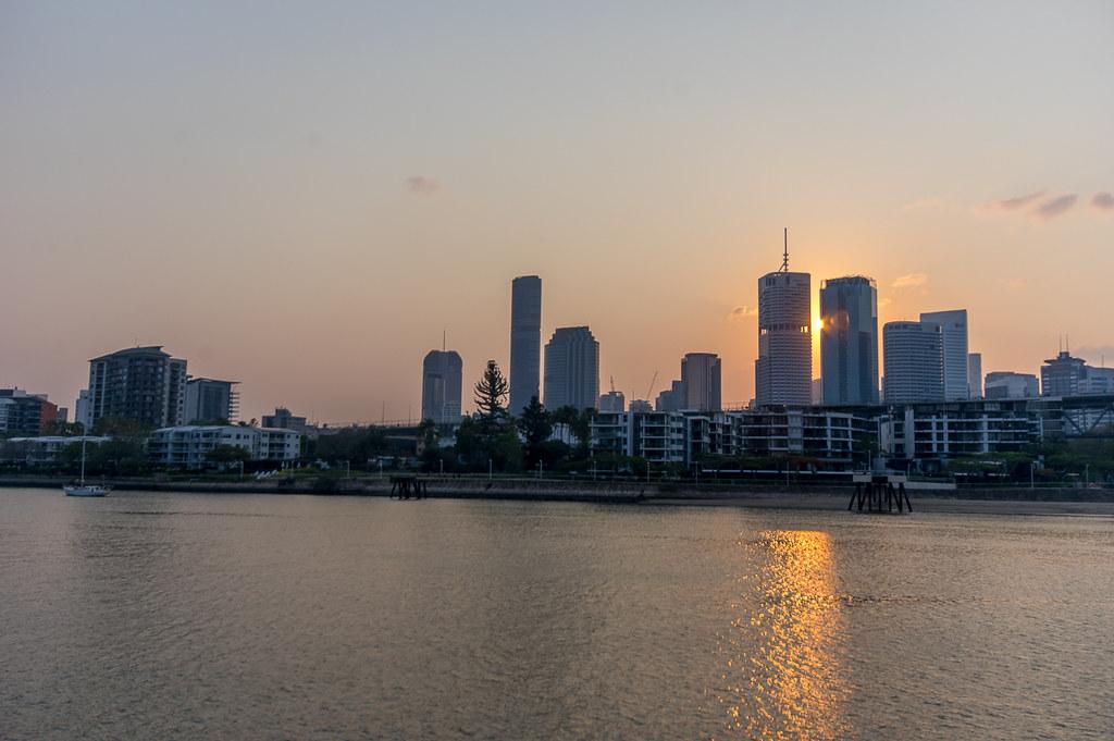 Brisbane sunset