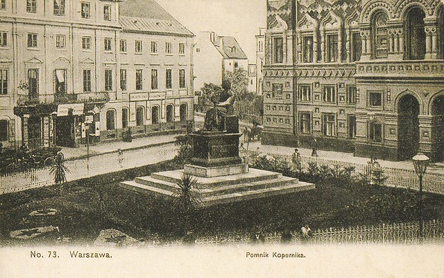 Pomnik_Mikołaja_Kopernika_w_Warszawie_1908