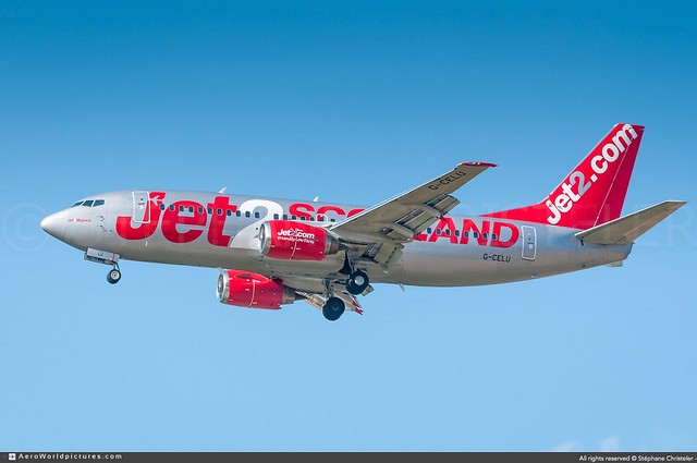 [CDG.2016] #Jet2 #LS #Boeing #B737 #G-CELU #Jet2.Majorca #Jet2.Scotland #awp