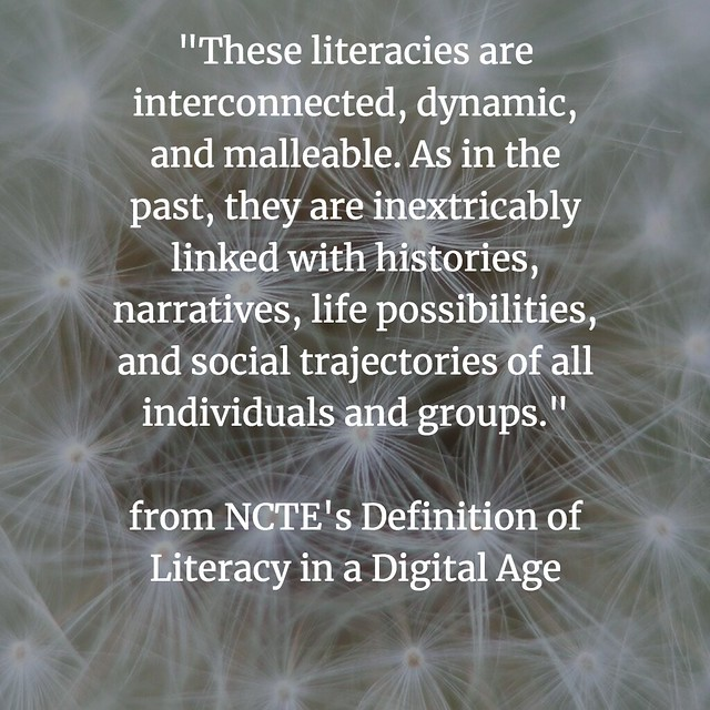 Defining Digital Literacies NCTE intro