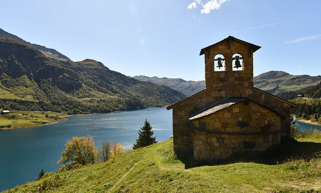 France - Alpes - lac de Roselend