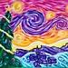 Starry Night with a (Xmas) Twist
