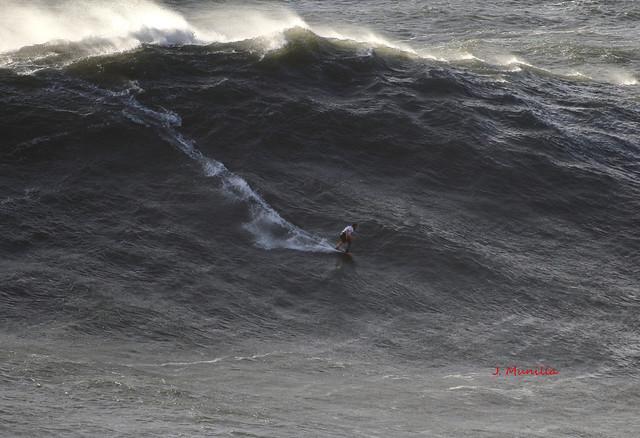 Gran ola en Nazaré 5-11-19