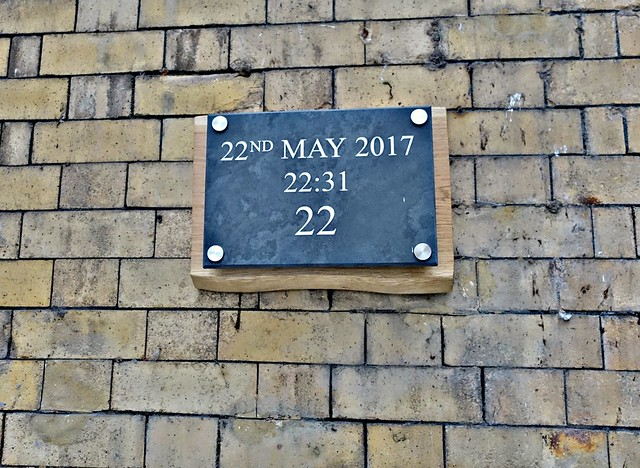 Memorial for Manchester Bombing Anniversary in Victoria Station