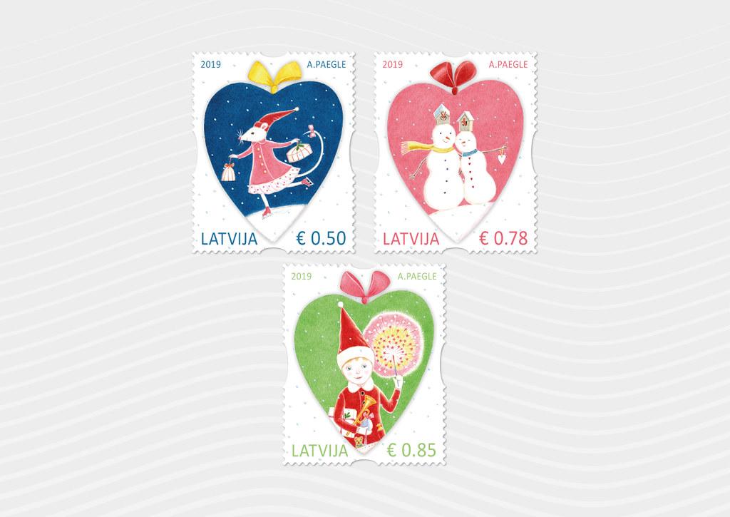 Pastmarkas - Ziemassvētki - Latvijas Pasts - Flickr