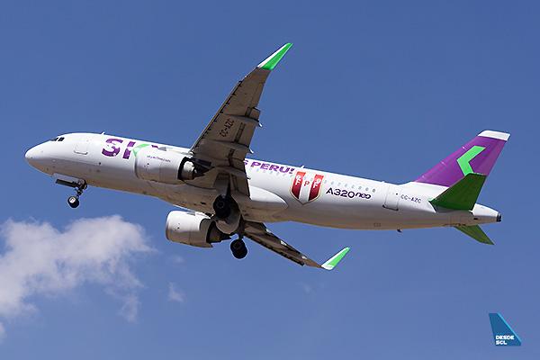 SKY A320neo CC-AZC (Diego Jara)