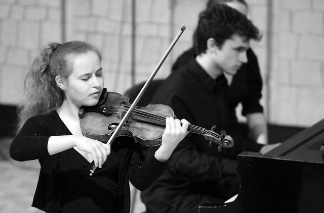 """SARA VALENCIA, VIOLÍN & JUAN PEDRO GARCÍA OLIVA, PIANO - AUDITORIO """"ÁNGEL BARJA"""" CONSERVATORIO DE LEÓN 19.11.19"""